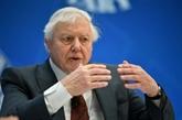 GB : la reine récompense Attenborough pour sa série Planète bleue