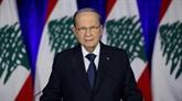 Contestation au Liban : le président Aoun reitère son appel au dialogue