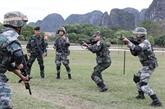 Clôture de l'exercice antiterroriste conjoint des pays de l'ADMM+ en Chine