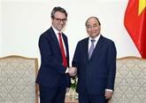 Le Premier ministre reçoit le chef de la délégation de l'UE au Vietnam