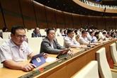 L'Assemblée nationale adopte trois lois