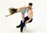 Patinage artistique : Papadakis et Cizeron au top sur la danse rythmique