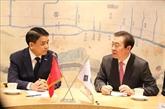 Une délégation de Hanoï en visite de travail en République de Corée