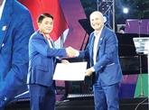 Le président du Comité populaire de Hanoï s'est vu décerner l'Ordre du Mérite d'Italie