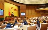 L'Assemblée nationale adopte deux lois