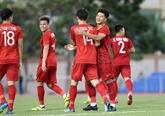 Football : le Onze vietnamien débute les Jeux d'Asie du Sud-Est avec une victoire écrasante
