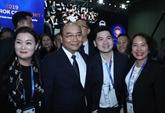 Nguyên Xuân Phuc au Sommet des Pdg d'ASEAN - R. de Corée