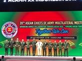 La 20e réunion multilatérale des chefs darmée de lASEAN