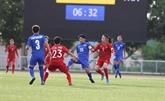 SEA Games 30 – Football féminin : Vietnam et Thaïlande partagent l'enjeu