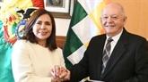 La Bolivie nomme un ambassadeur à Washington