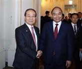 Le PM vietnamien rencontre le président de l'Association d'amitié République de Corée -Vietnam