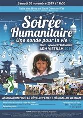 Une sonde pour la vie, la soirée annuelle de lADM Vietnam
