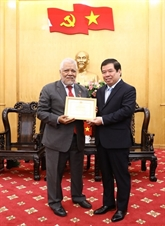 L'ambassadeur du Venezuela au Vietnam à l'honneur