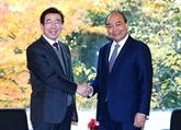 Le Premier ministre Nguyên Xuân Phuc reçoit le maire de Séoul