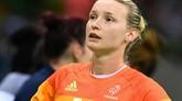 Catherine Gabriel en doublure d'Amandine Leynaud pour le Mondial-2019