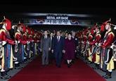 Le Premier ministre termine sa visite en République de Corée