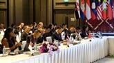Le Vietnam participe à la réunion de l'ASEAN sur la criminalité transnationale