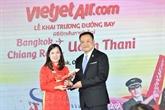 Vietjet lance deux nouvelles lignes aériennes en Thaïlande