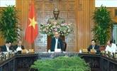 Le PM préside une réunion sur le projet de Résolution 01 pour 2020