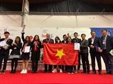 Des élèves vietnamiens brillants à l'INOVA 44