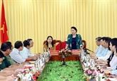 La présidente de l'AN se rend dans la province d'An Giang