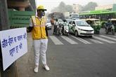 New Delhi continue de tousser dans une pollution asphyxiante