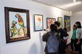 Un échange artistique international à Dà Nang