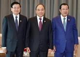 Le PM rencontre des dirigeants en marge du 35e Sommet de l'ASEAN