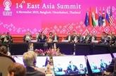 Le Premier ministre assiste au 14e Sommet d'Asie de l'Est