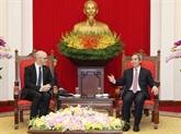 Le Vietnam salue les contributions de Facebook à l'écosystème numérique sur son sol