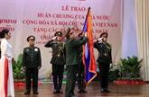 L'Ordre de l'Étoile d'or remis à l'Armée populaire du Laos