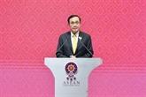 Le PM thaïlandais annonce les résultats du 35e Sommet de l'ASEAN