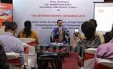 """Le """"Mois du Vietnam"""" en Inde avec de nombreuses activités"""