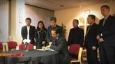Le vice-ministre des AE Tô Anh Dung au Royaume-Uni