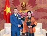 Les organes législatifs vietnamien et arménien renforcent leurs relations