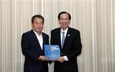 Hô Chi Minh-Ville renforce sa coopération avec Gymcheon