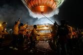 Ouverture du spectaculaire et dangereux Festival des ballons au Myanmar