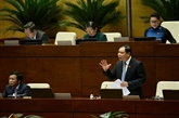 Ouverture des séances d'interpellation de la 8e session de l'AN