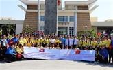 Vietnam - Cambodge : rencontre de jeunes journalistes et étudiants des provinces frontalières