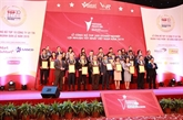 Publication de la liste 2019 des 500 entreprises du Vietnam aux plus grands profits