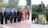 Hanoï : célébration du 102e anniversaire de la Révolution d'Octobre russe
