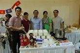 Ouverture de la foire de charité Bazaar en Indonésie