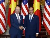 Le Premier ministre reçoit le secrétaire américain au Commerce