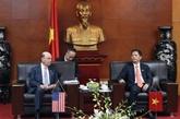 L'édification de la confiance stratégique pousse les liens Vietnam - États-Unis