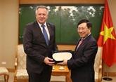 Un vice-Premier ministre reçoit le ministre slovène de l'Économie