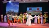 Le 66e anniversaire de la Fête nationale du Cambodge célébré à Hô Chi Minh-Ville