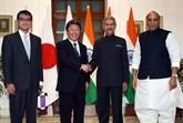 Japon et Inde s'engagent à coopérer avec l'ASEAN