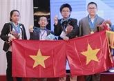 IMSO 2019 : 15 médailles dor pour les élèves vietnamiens