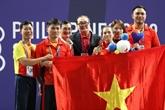 L'équipe vietnamienne décroche les premières médailles d'or
