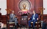 Le secrétaire du Comité du Parti de HCM-Ville reçoit Barack Obama